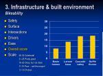 3 infrastructure built environment bikeability22