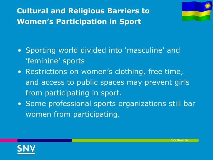gender limitations on participation in sports The primary way that gender affects participation in sports is that there are  significantly  what are the advantages & disadvantages of a political  environment.