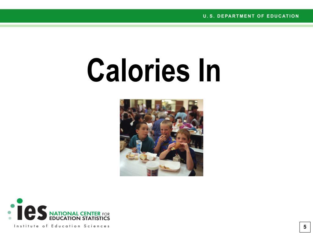 Calories In