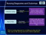 nursing diagnoses and outcomes1
