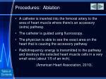procedures ablation