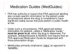 medication guides medguides