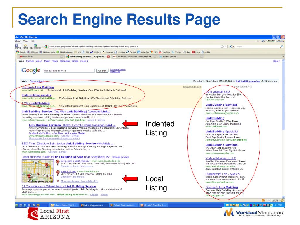 Search Engine Results Page