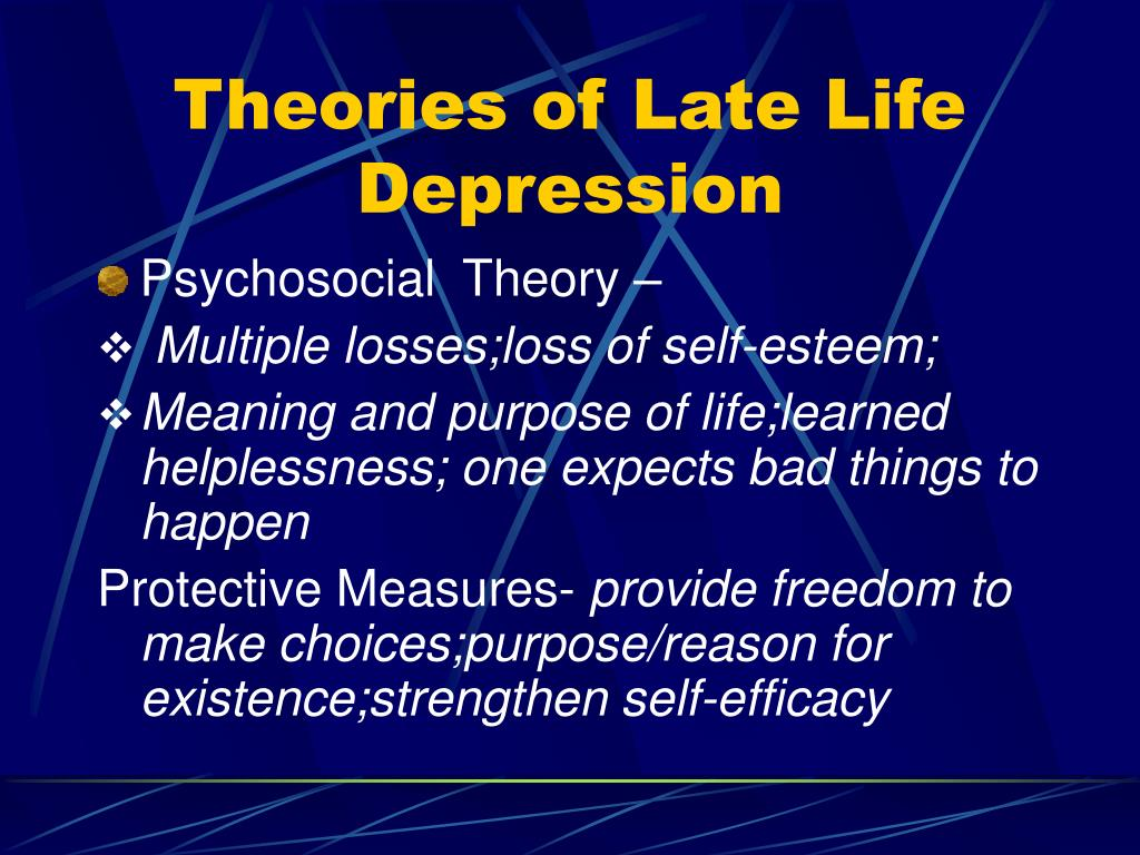 PPT - Mood & Cognitive Disorders in the Older Adult- The ...