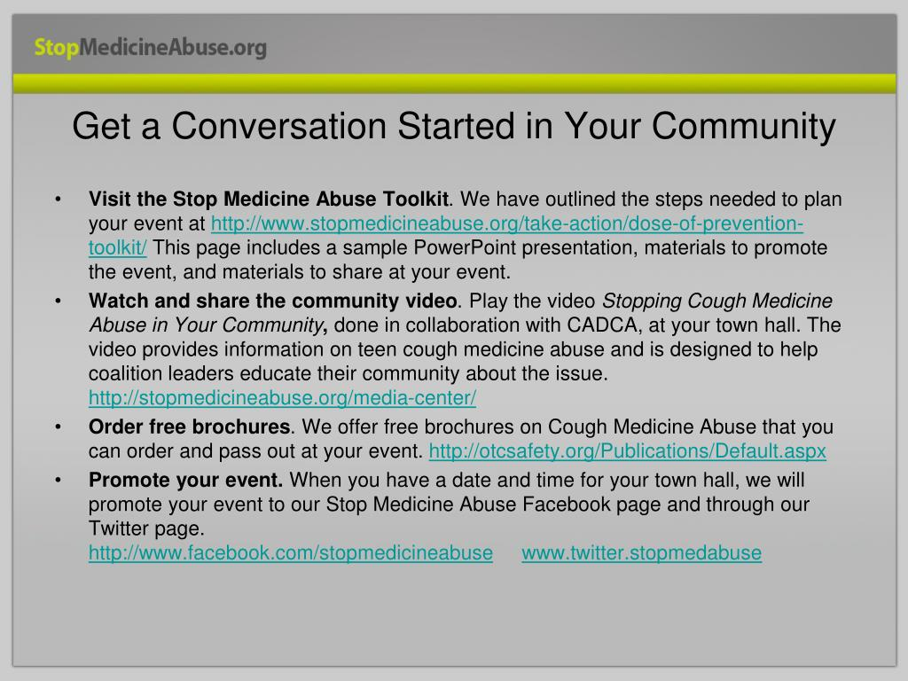 Get a Conversation Started in Your Community