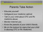 parents take action