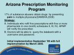 arizona prescription monitoring program
