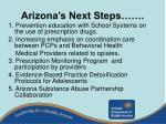 arizona s next steps