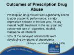 outcomes of prescription drug abuse18