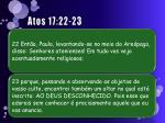 atos 17 22 23