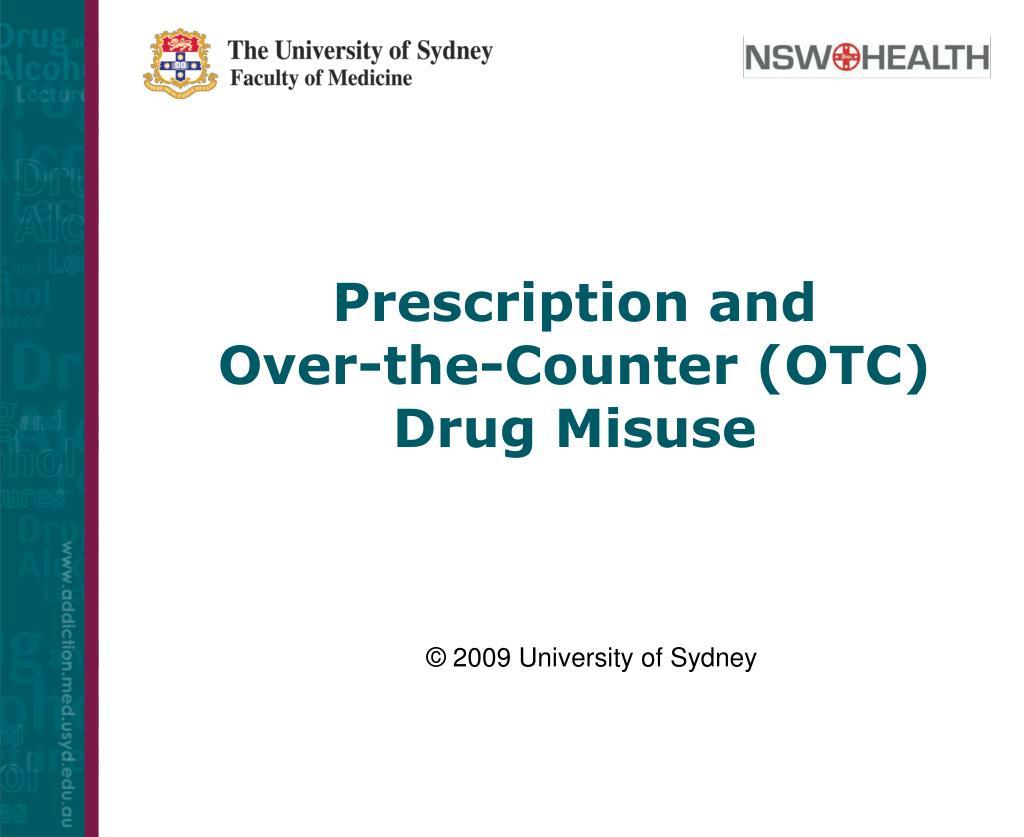 Prescription and