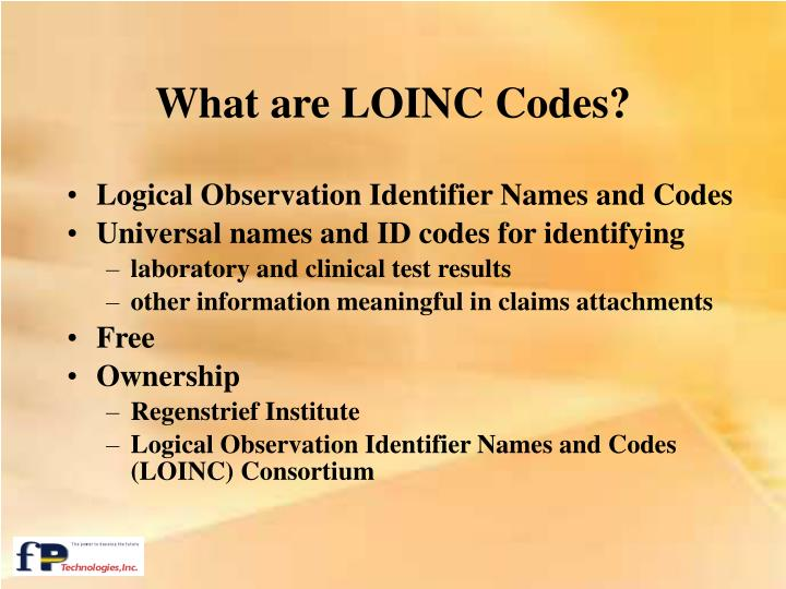 What are LOINC Codes?