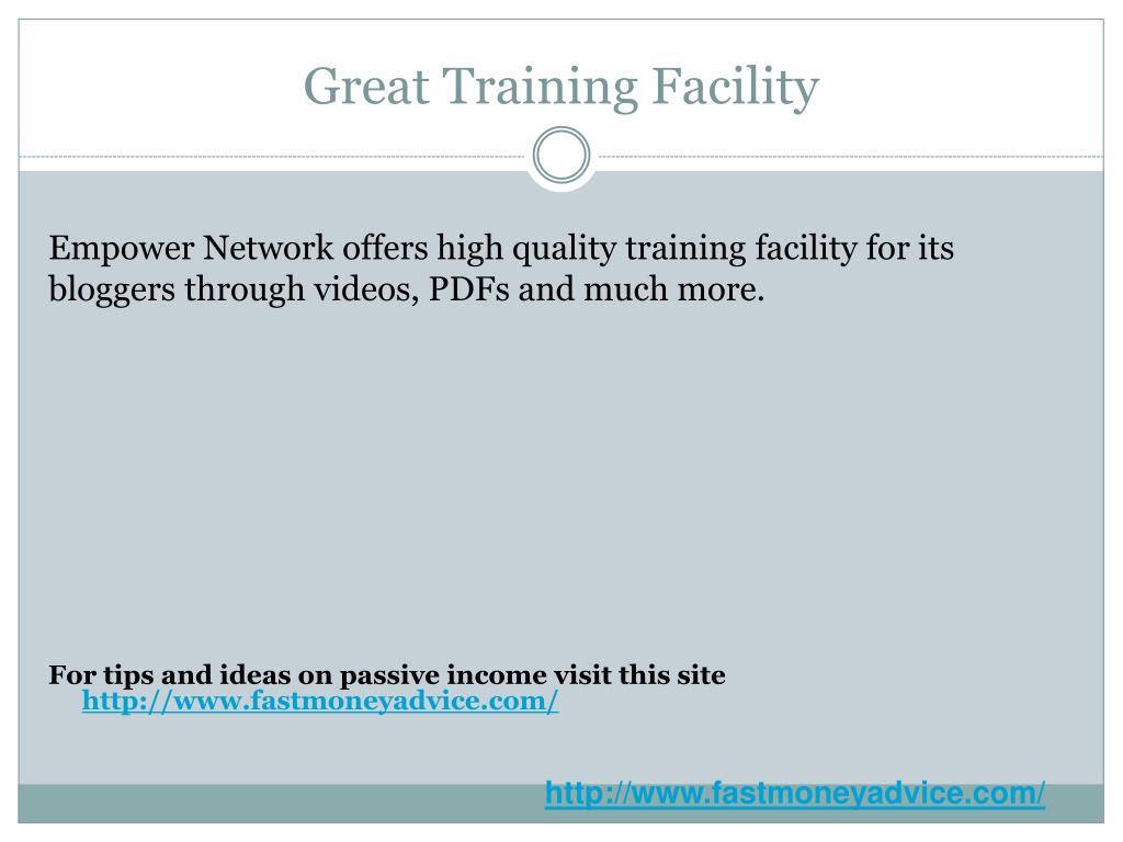Great Training Facility
