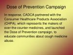 dose of prevention campaign26