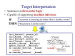 target interpretation6