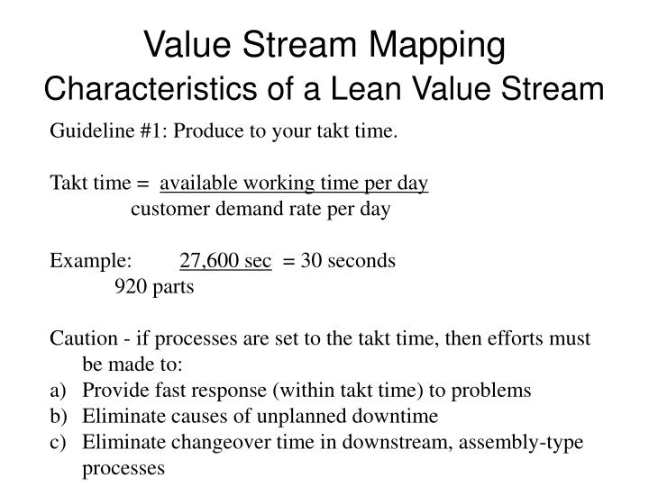 PPT - Value Stream Mapping PowerPoint Presentation - ID:1224742
