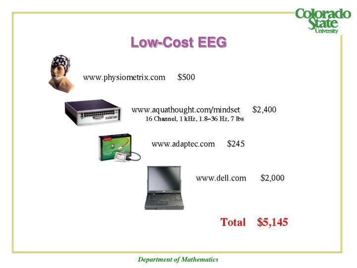 Low-Cost EEG