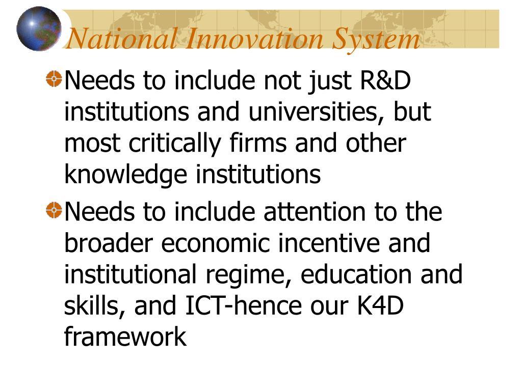 National Innovation System