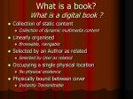 what is a book what is a digital book