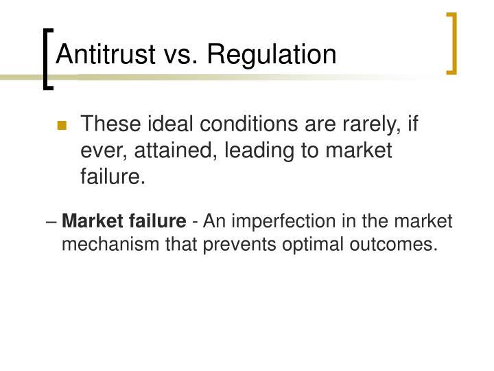 Antitrust vs regulation1