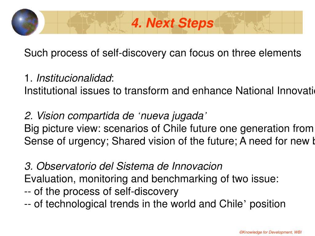 4. Next Steps