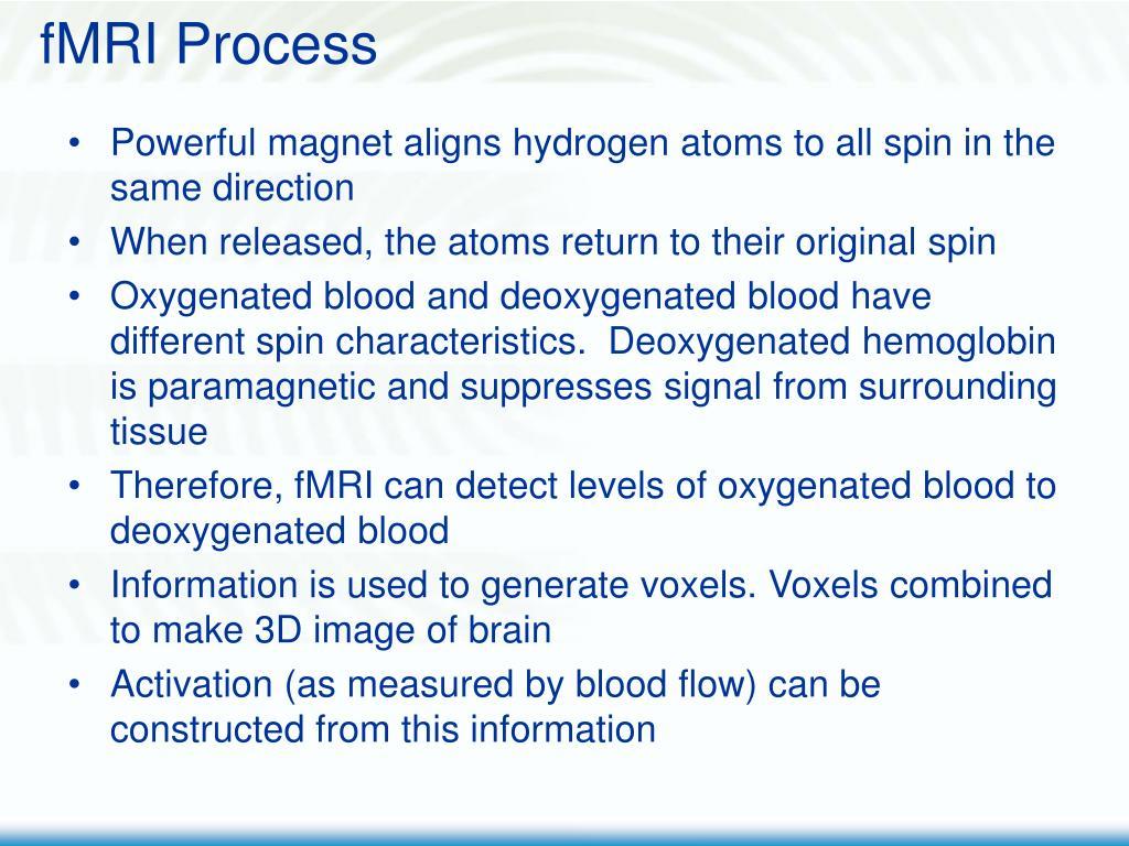 fMRI Process