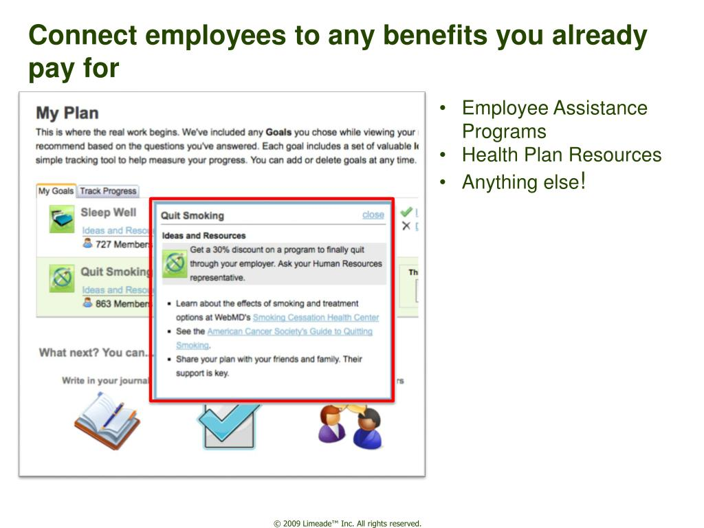 Connect employees to any benefits you already pay for
