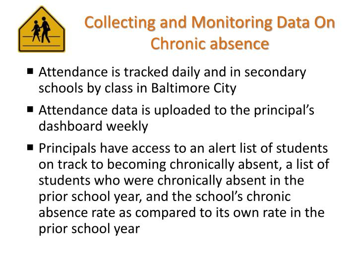 Collecting and Monitoring Data On Chronic absence