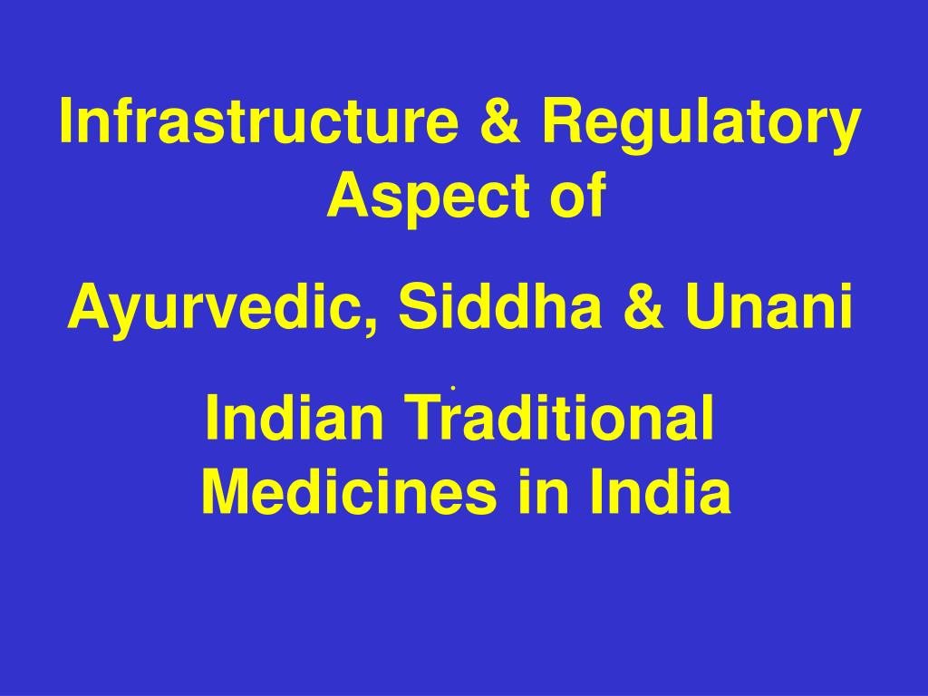 Infrastructure & Regulatory Aspect of