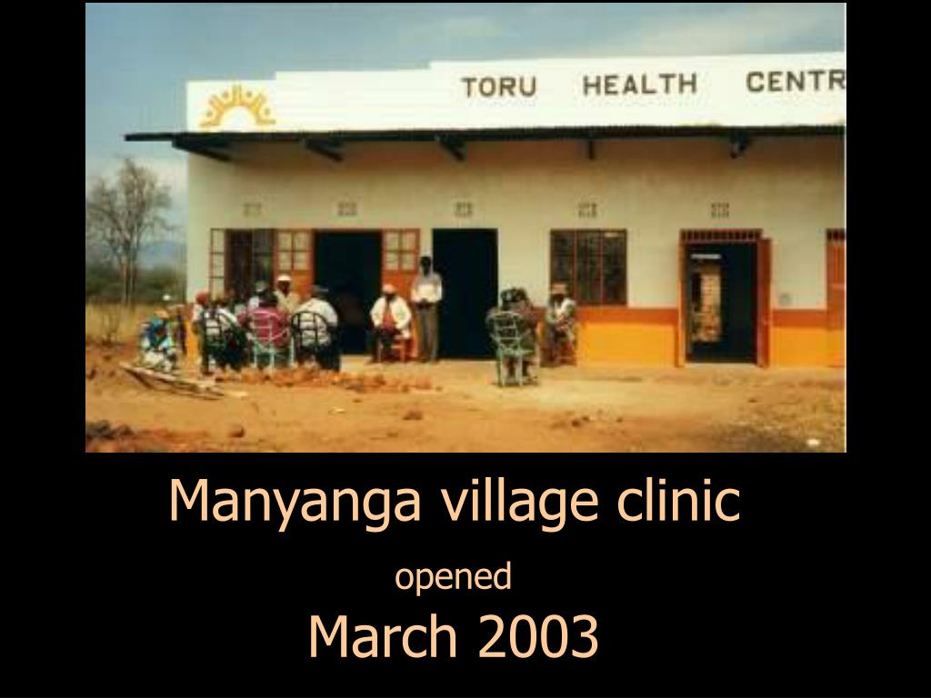 Manyanga village clinic