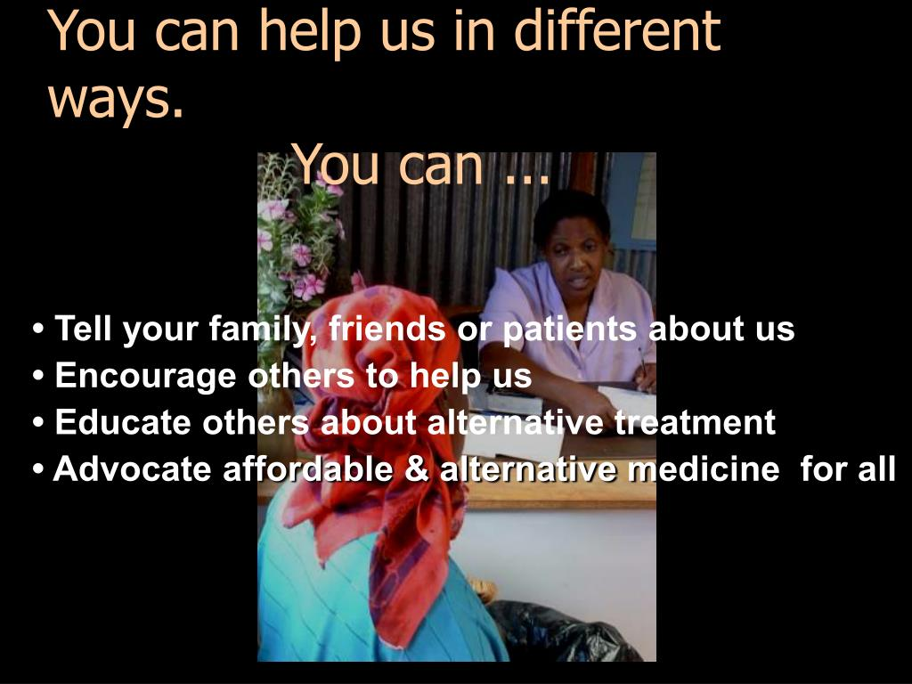 You can help us in different ways.