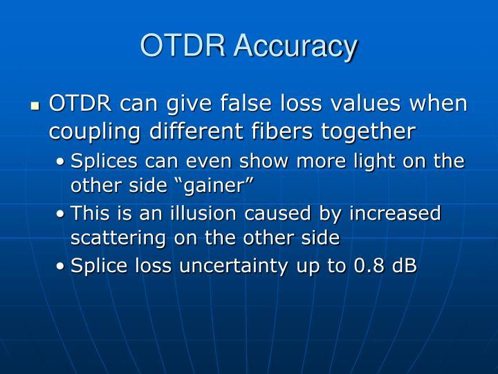 OTDR Accuracy