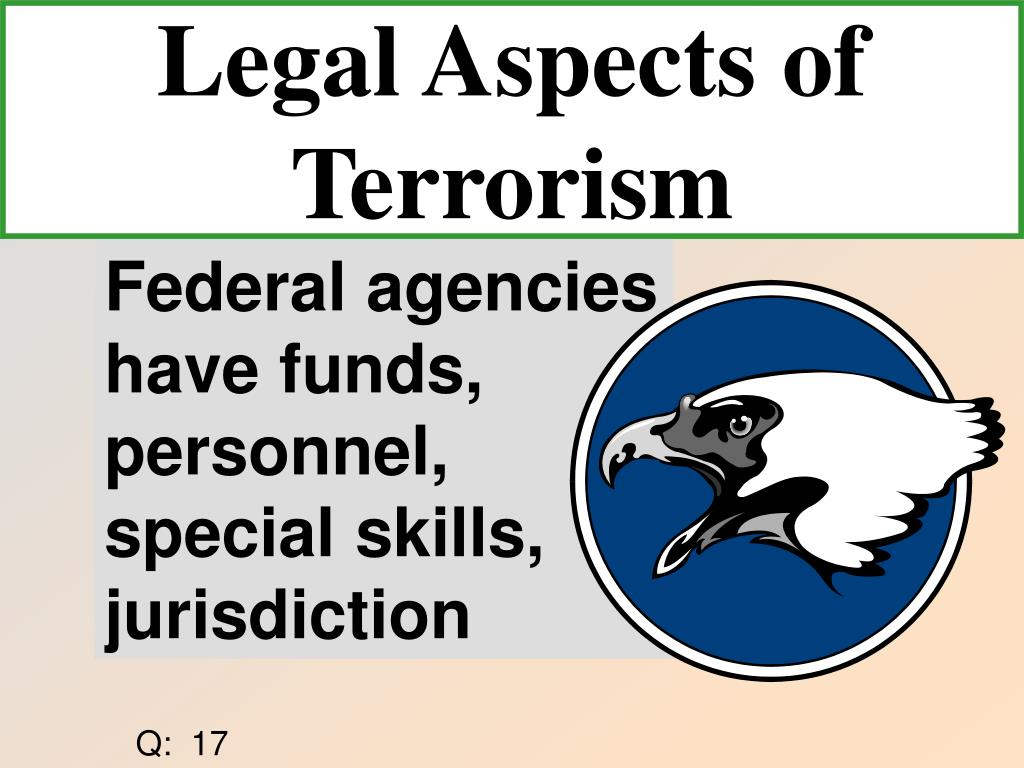 Legal Aspects of Terrorism