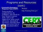 programs and resources cont53