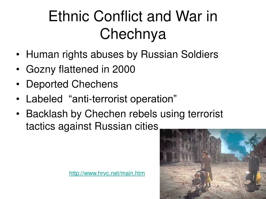 Ethnic Conflict and War in Chechnya
