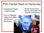 putin clamps down on democracy