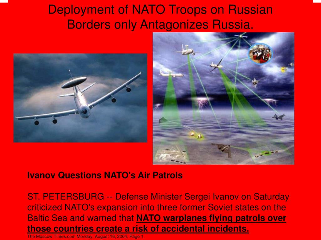 Deployment of NATO Troops on Russian