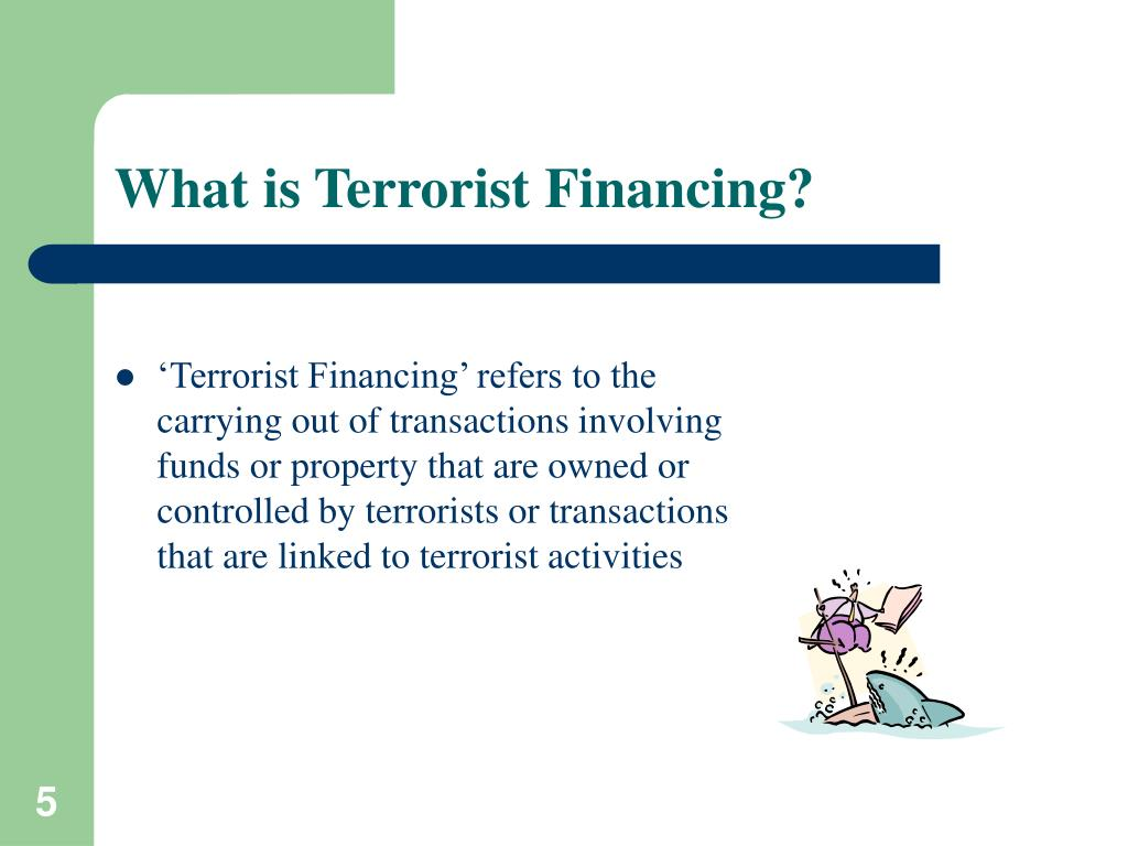 What is Terrorist Financing?