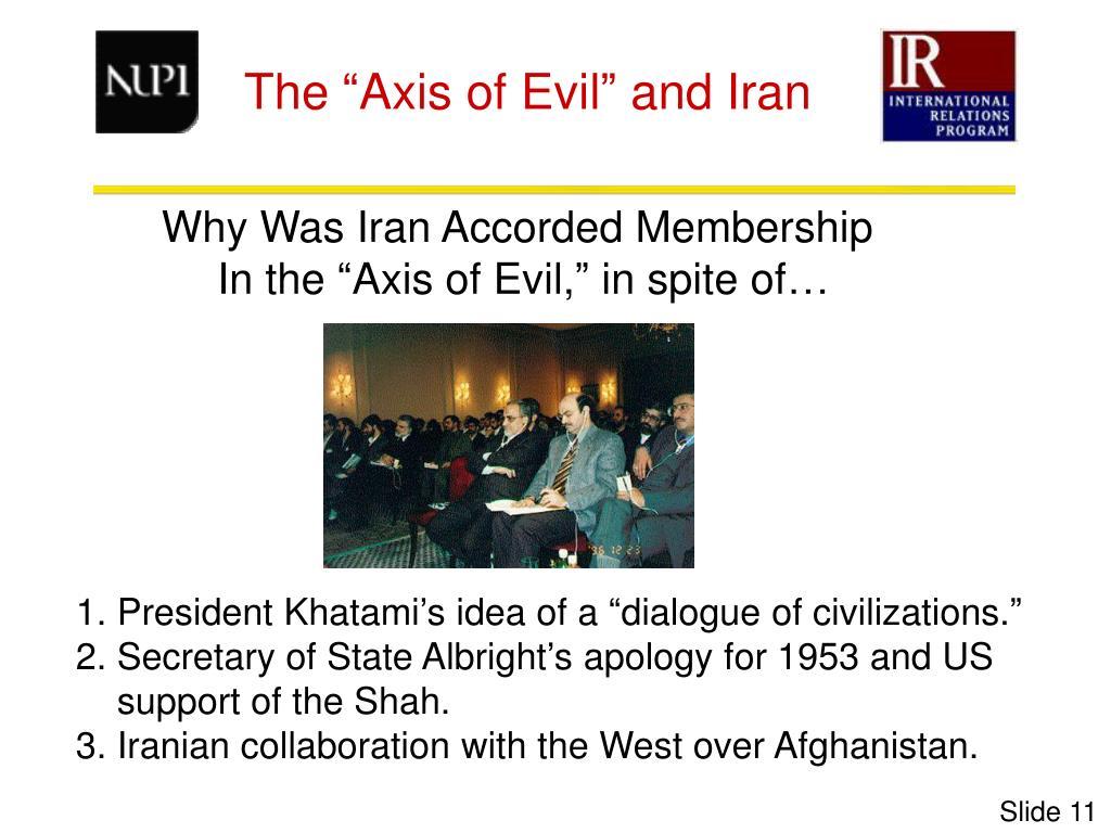 Why Was Iran Accorded Membership