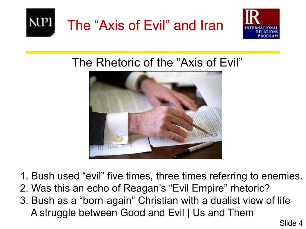 """The """"Axis of Evil"""" and Iran"""
