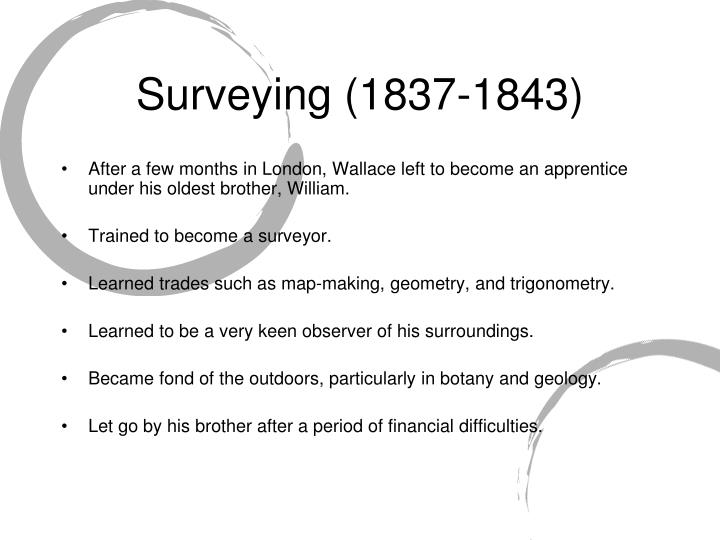 Surveying 1837 1843