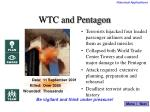 wtc and pentagon