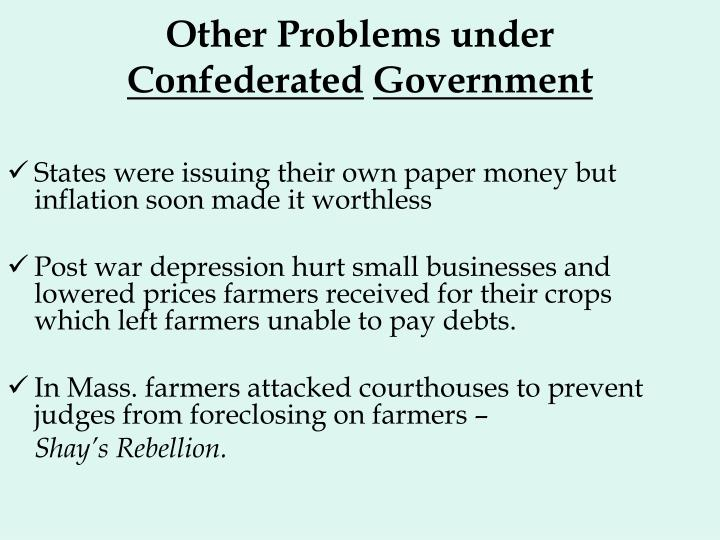 Other Problems under