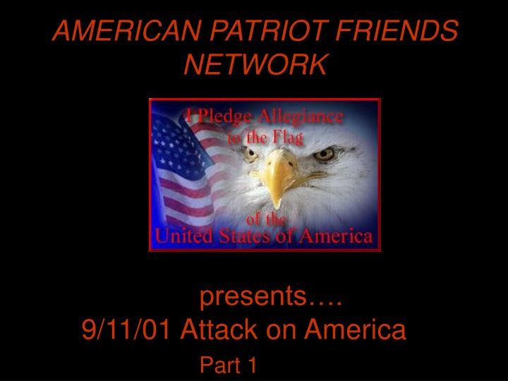 American patriot friends network