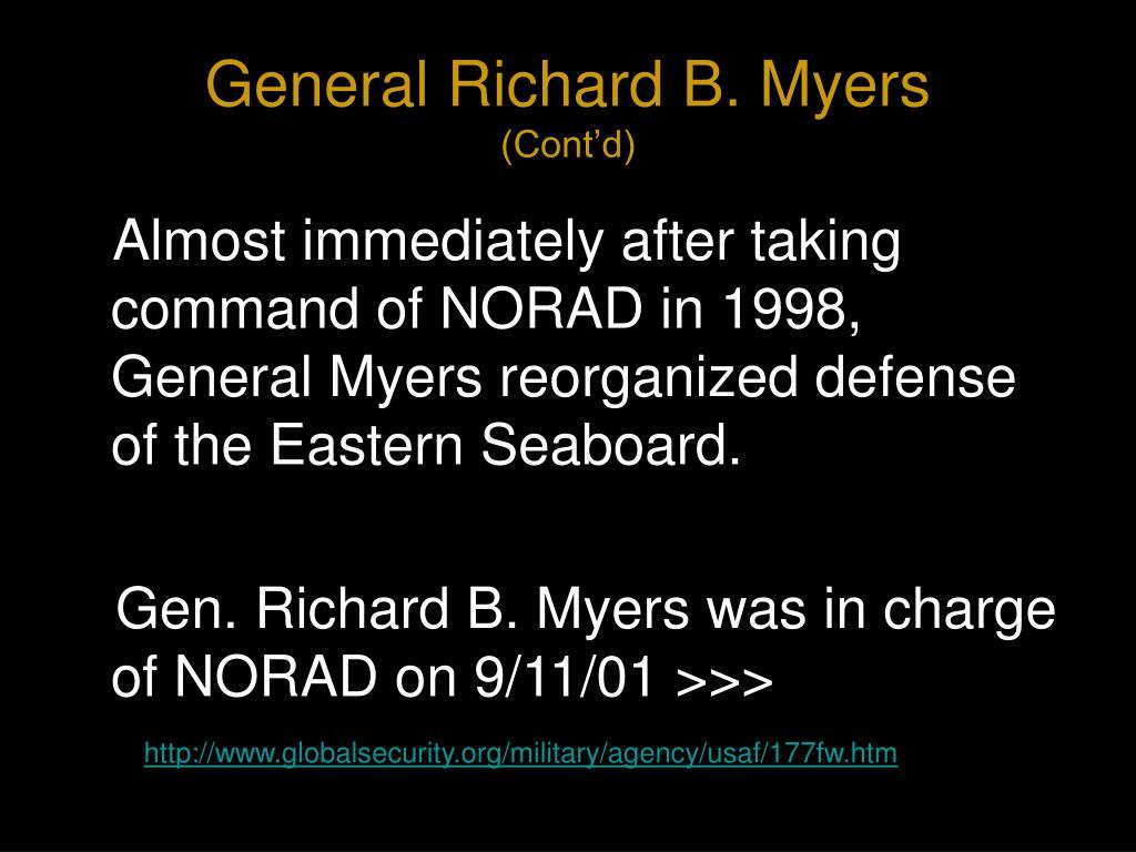 General Richard B. Myers