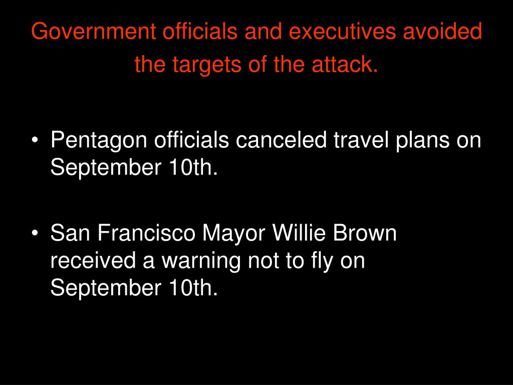 Government officials and executives avoided the targets of the attack.