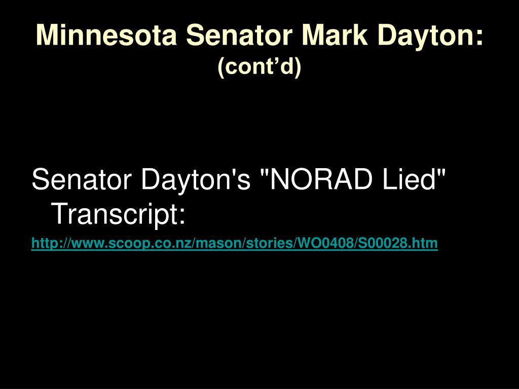Minnesota Senator Mark