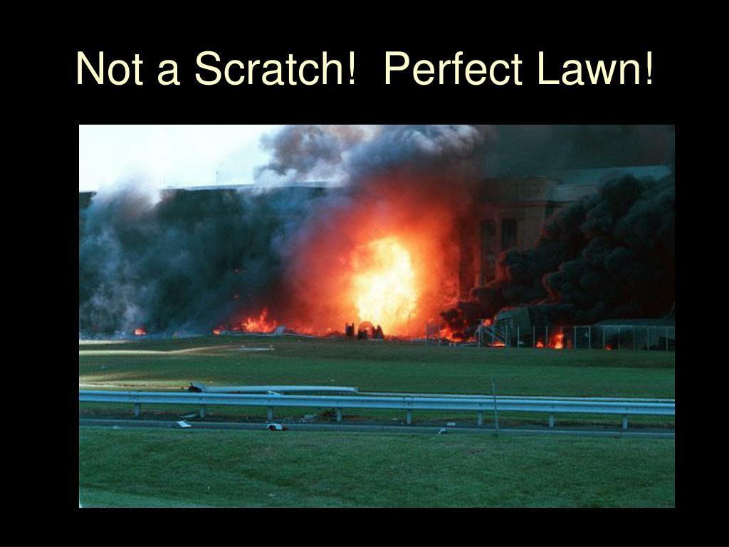 Not a Scratch!  Perfect Lawn!