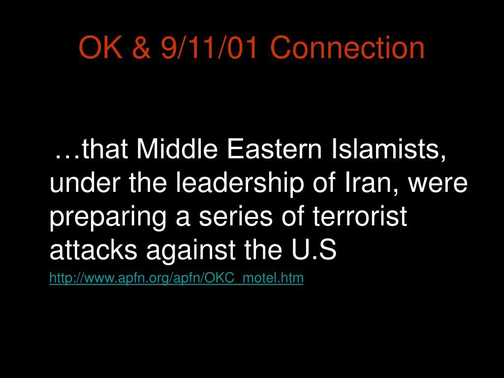 OK & 9/11/01 Connection