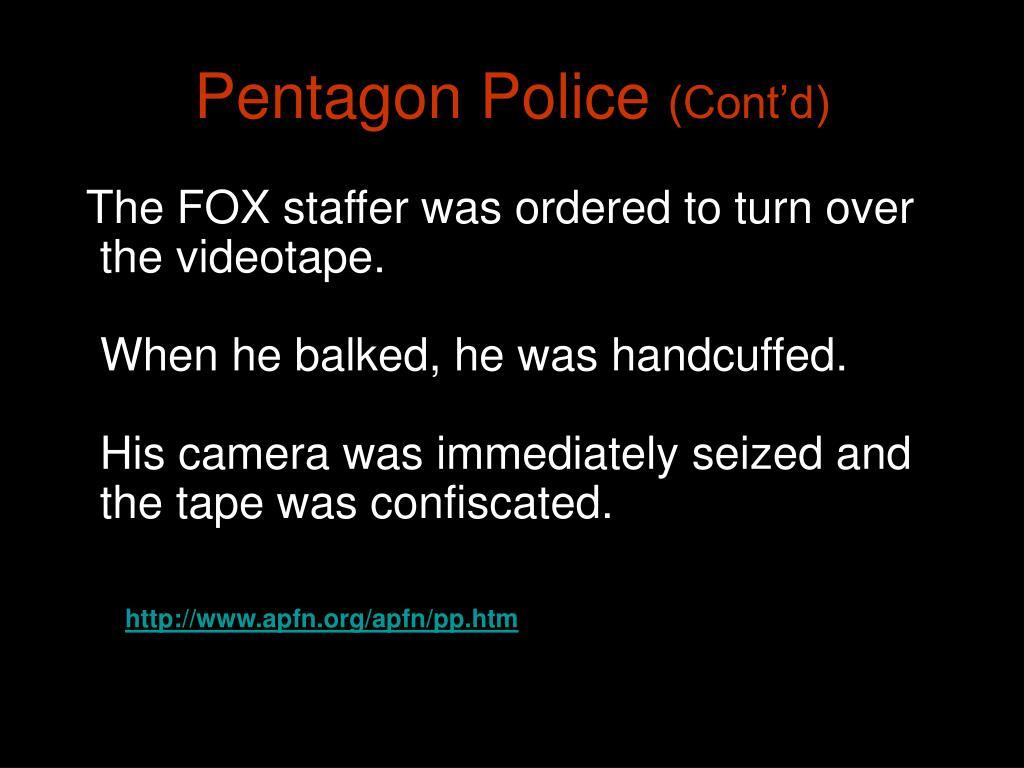 Pentagon Police